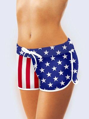 Шорты Американский флаг