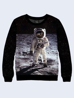 Свитшот Космонавт на Луне