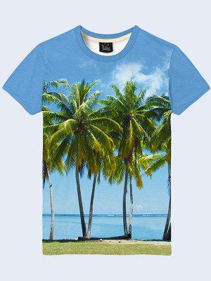 3D футболка Пальмы
