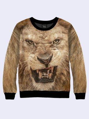 Свитшот Грозный лев
