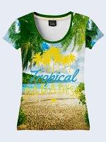 3D футболка Тропический рай