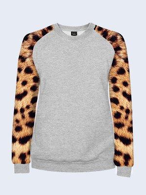 Реглан Леопардовый принт