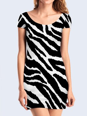 3D платье Полосатая расцветка