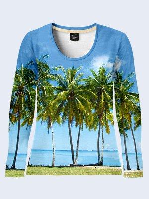 Лонгслив Пляж