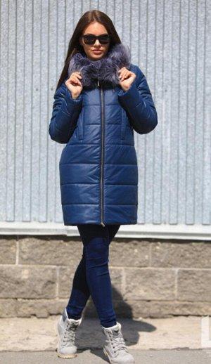 Куртка Размерная линейка: 44,46,48,50,52 Наполнитель: 100% Тинсулейт- 300 гр. Ткань: 100% Полиэстер Цвета: — Сизый — Сапфир (50) Длина изделия: 85 см Длина рукава: 64 см Силуэт: прямой     Капюшон: не