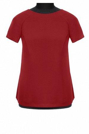 Блуза НБ18/бордовый