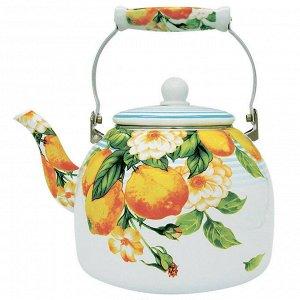"""Чайник  5,0 л с керамической ручкой EM-501X1/47 """"Лимон"""""""