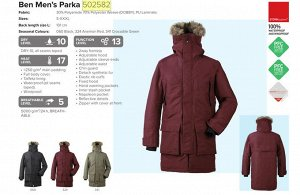 Куртка мужская  BEN USX PARKA