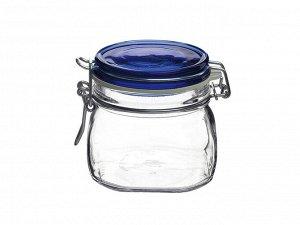 """Bormioli"" Fido Vaso Blue Банка для хранения 500мл 149510MRG121990 ВЭД"