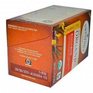 Twinings, Натуральный травяной чай, ройбос, 20 пакетиков, 1.27 унций (36 г)