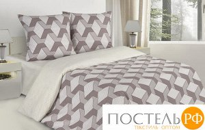 Комплект постельного белья ЕвроПоэтика Квадро (Прямоугольная ПВХ)