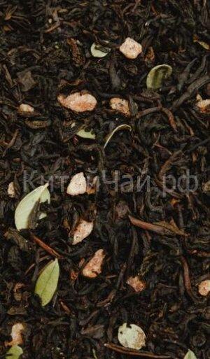 Чай черный - Клубника со сливками № 2 - 100 гр