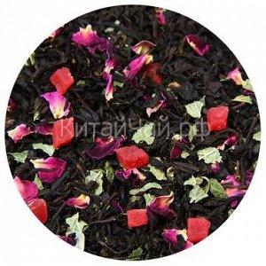Чай черный - Дикая Вишня с ягодой кат. В - 100 гр