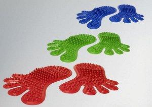 Коврик массажный детский из резины на основе натурального каучука След