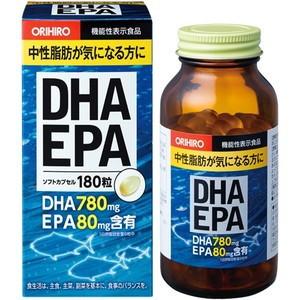 ORIHIRO Рыбий жир DHA&DPA (180капсул)