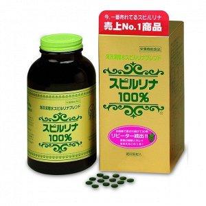 Japan Algae Высокощелочная спирулина 100%. 2200шт.