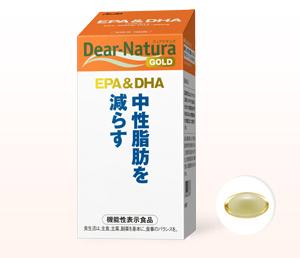 Dear Natura Gold EPA&DHA. Комплекс Омега-3 жирных кислот. 180шт.(на 30 дней)