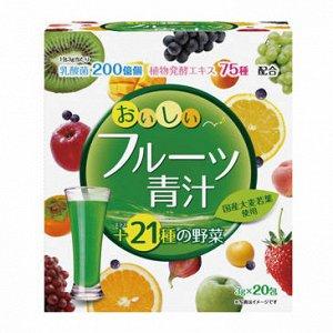 YUWA Fruits Aodjiru Фруктовый аодзиру. 20шт