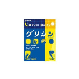 Fine japan Glycine Premium Глицин в порошке 30 шт