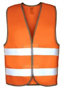 Жилет сигнальный оранжевый, р-р 46-50, ГОСТ Р, 777-053, PROTECT