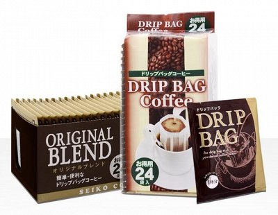 Кофе,соусы,приправы-продуктовый из Японии — Кофе Spesial Blend (Regylar) -дрип пакеты 24шт — Кофе и кофейные напитки