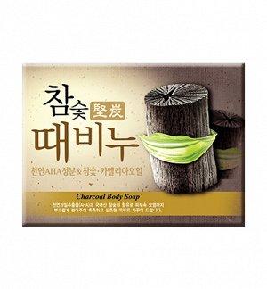 Мыло для тела и лица ДРЕВЕСНЫЙ УГОЛЬ Charcoal Body Soap, 100гр