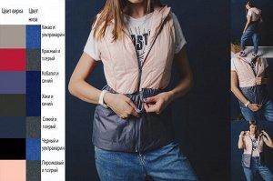 Жилет G3 Современный модный комбинированный жилет: - ремень-резинка на пряжке - классическая модель Размеры: 40-54 Состав: 100 % полиэстер Материал подкладки: 100 % полиэстер Размер товара на модели: