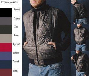 Жилет M2 Современный модный жилет Размеры: 44-54 Состав: 100 % полиэстер Материал подкладки: 100 % полиэстер Размер товара на модели: 50 Цвет на модели: темно-серый Длина по спинке: 66 -67 см Дли