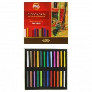 Пастель сухая художественная 24 цвета, Hard Koh-I-Noor GIOCONDA 8114
