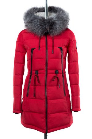 05-1556 Куртка зимняя (Синтепон 300) Плащевка красный