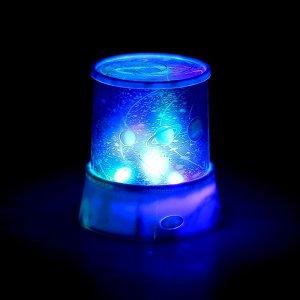 "Ночник-проектор ""Планеты"" 4 LED. 12 см. (выход на DC/5V. 3*АА не в комплекте)"