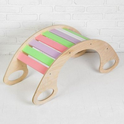 Деревянные игрушки - подарок природы детям!  — Качалки — Деревянные игрушки