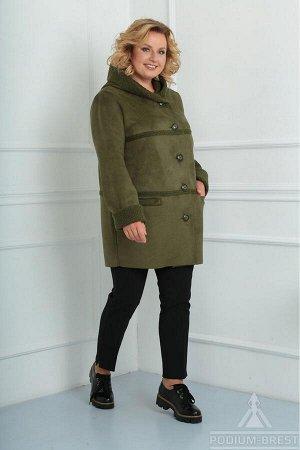 Пальто Diomant  Зеленый