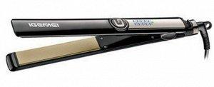 Утюжок Утюжок для волос Gemei GM 416 является просто незаменимым средством в создание прекрасной прически. С ее помощью вы сможете сделать волосы идеально ровными. Каждая обладательница такого стайлер