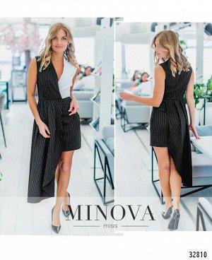 Платье №1352-черный