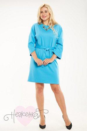 Платье П 720 (голубой)