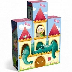 Кубики в картинках Дворец принцессы 00859