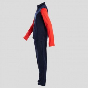 """Тренировочный костюм GYM'Y теплый синтет. """"дышащий"""" S500 д/мал. гим. сине-крас. DOMYOS"""