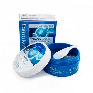 Гидрогелевые патчи c коллагеном для кожи глаз FARMSTAY Collagen Water Full Hydrogel Eye Patch, 60шт