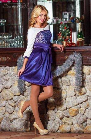 Платье Нежность и невероятная женственность – надев платье из новой коллекции Seventeen, вы непременно получите море комплиментов, а восхищенные мужские взгляды не покинут вас ни на минуту. Белый верх