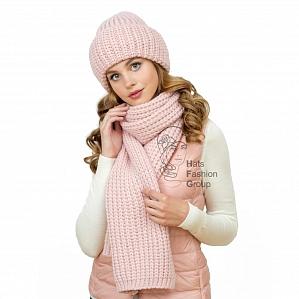 Продам женский комплект (шапка+шарф). ТМ Lan*dre. Россия. Новая.