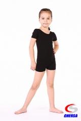 Комбинезон для танцев с коротким рукавом