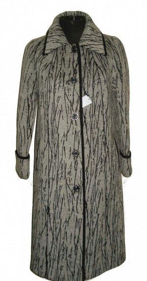 Женское длинное пальто Код: 3 белая