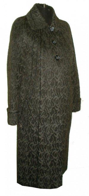 Демисезонное женское пальто Код: Жаккард 5
