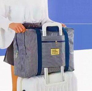 Азбука Домашнего Уюта! Легкая уборка -Идеальный Результат — ХИТ! Легкая складная сумка на чемодан! — Дорожные сумки
