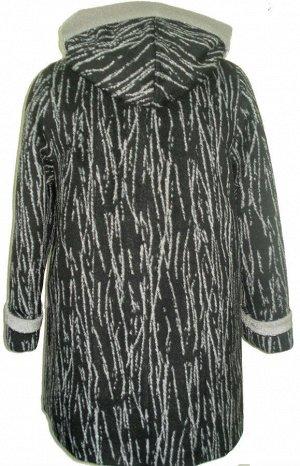 Женское пальто зимнее Код: Берёза 108 чёрная.