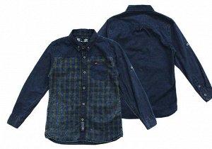 Рубашка м дл/р SA 10 B 128-152/5