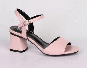 9B050-03-19-8 розовый (Иск.кожа/Иск.кожа) Туфли летние открытые женские 8п