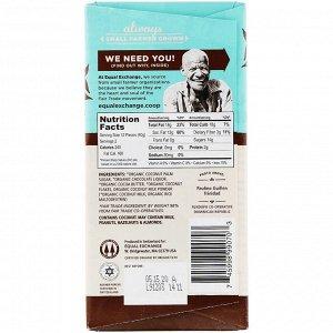 Equal Exchange, Organic Chocolate, Coconut Milk and Coconut Palm Sugar, 55% Cacao, 2.8 oz (80 g)