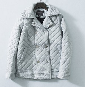 Стеганная куртка,серая